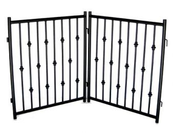 Emperor Rings 2 PC Freestanding Gate