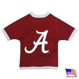 Alabama Crimson Tide Athletic Mesh Pet Jersey (Option: Small)