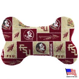 Florida State Plush Bone Toy (Option: Small)