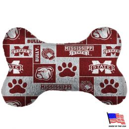 Mississippi State Plush Bone Toy (Option: SmallUSC Without Trojans)