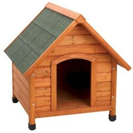 Premium Plus A-Frame Dog House (Size: large)