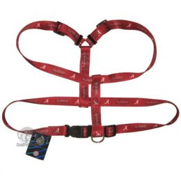 Alabama Crimson Tide Dog Harness (Option: Large)