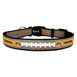 Missouri Tigers Reflective Football Pet Collar (Option: Toy)