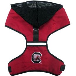 South Carolina Gamecocks Pet Hoodie Harness (Option: Large)