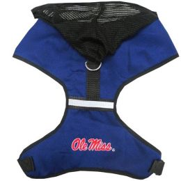 Ole Miss Rebels Pet Hoodie Harness (Option: Small)