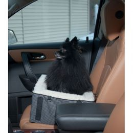 Designer Pet Booster Seat (Color: Slate)