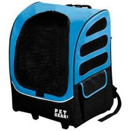 I-GO Plus Traveler Pet Carrier (Color: Ocean Blue)