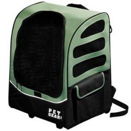 I-GO Plus Traveler Pet Carrier (Color: Sage)