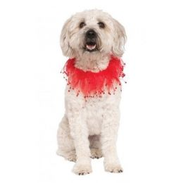 Red Fancy Pet Collar (Option: S/M)