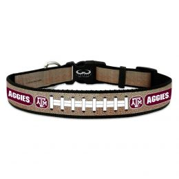 Texas A&M Aggies Reflective Football Pet Collar (Option: Toy)